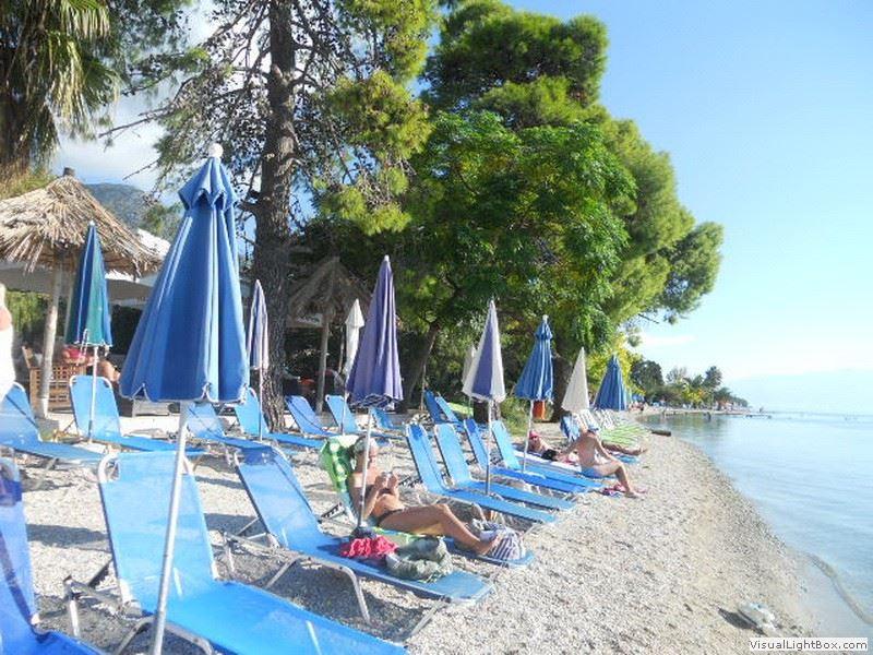 Nidri Lefkada Plaže Utisci Provod Noćni život Grčka