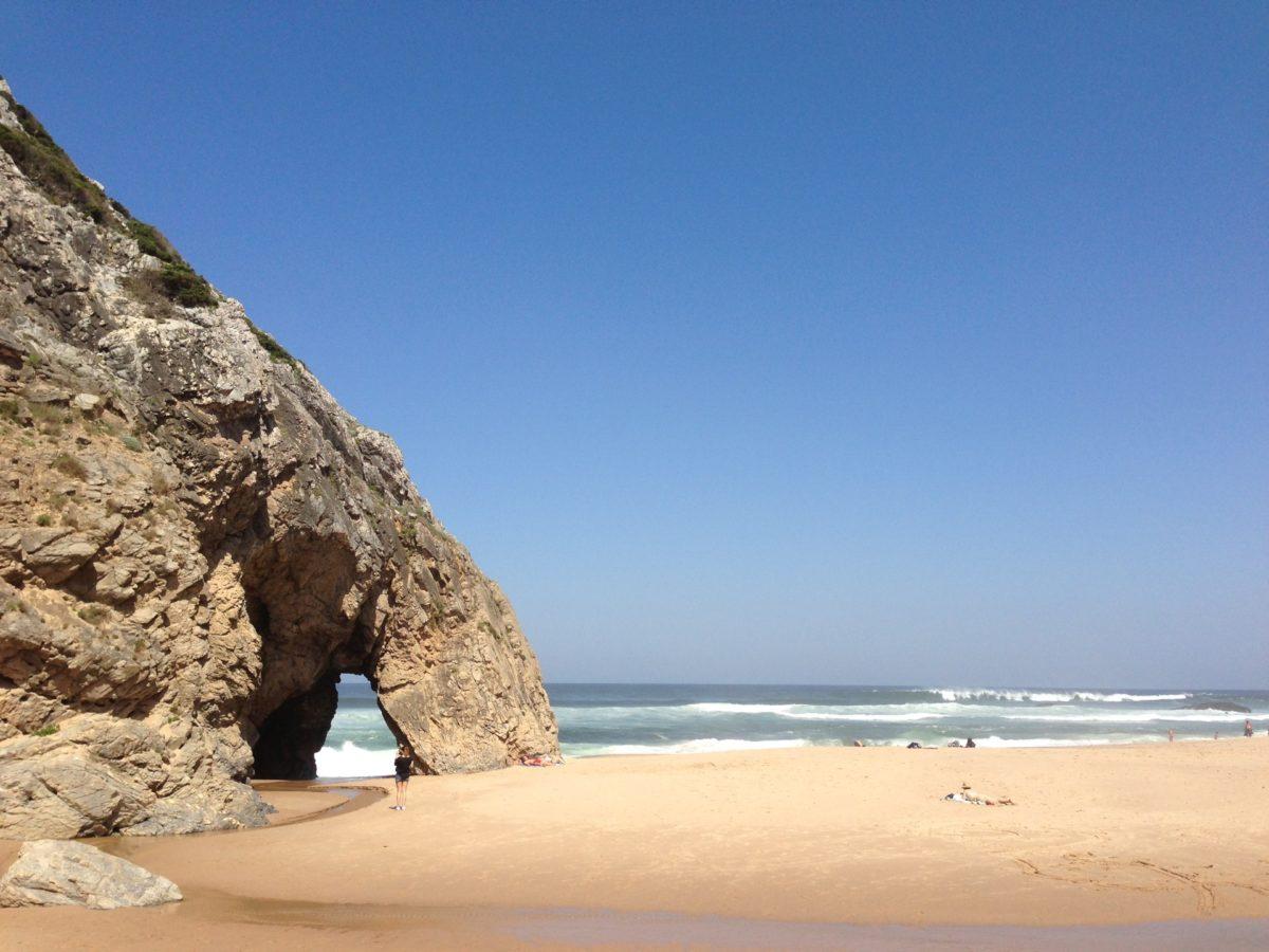 Adraga beach