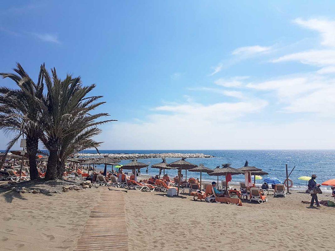 Guadalmina beach