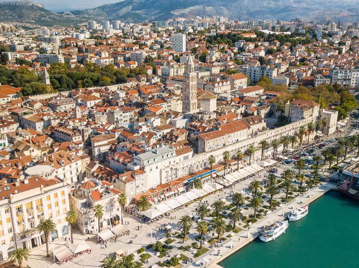 Split, grad
