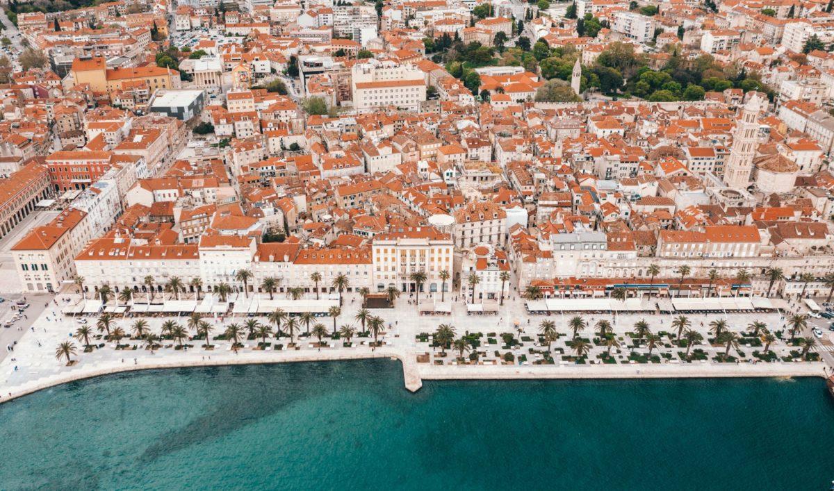 Split, grad, plaza