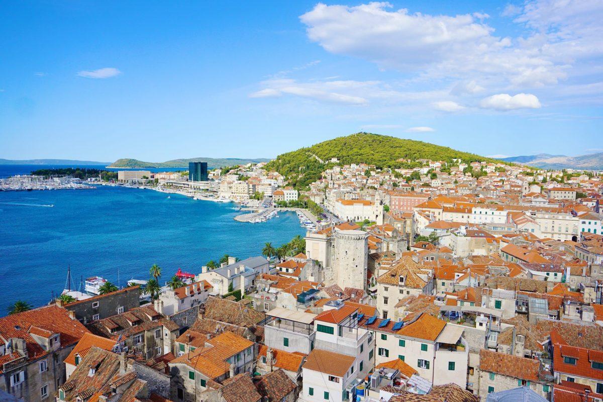Split, pogled na more