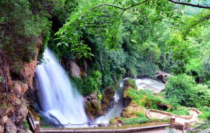 Edessa, Wasserfälle