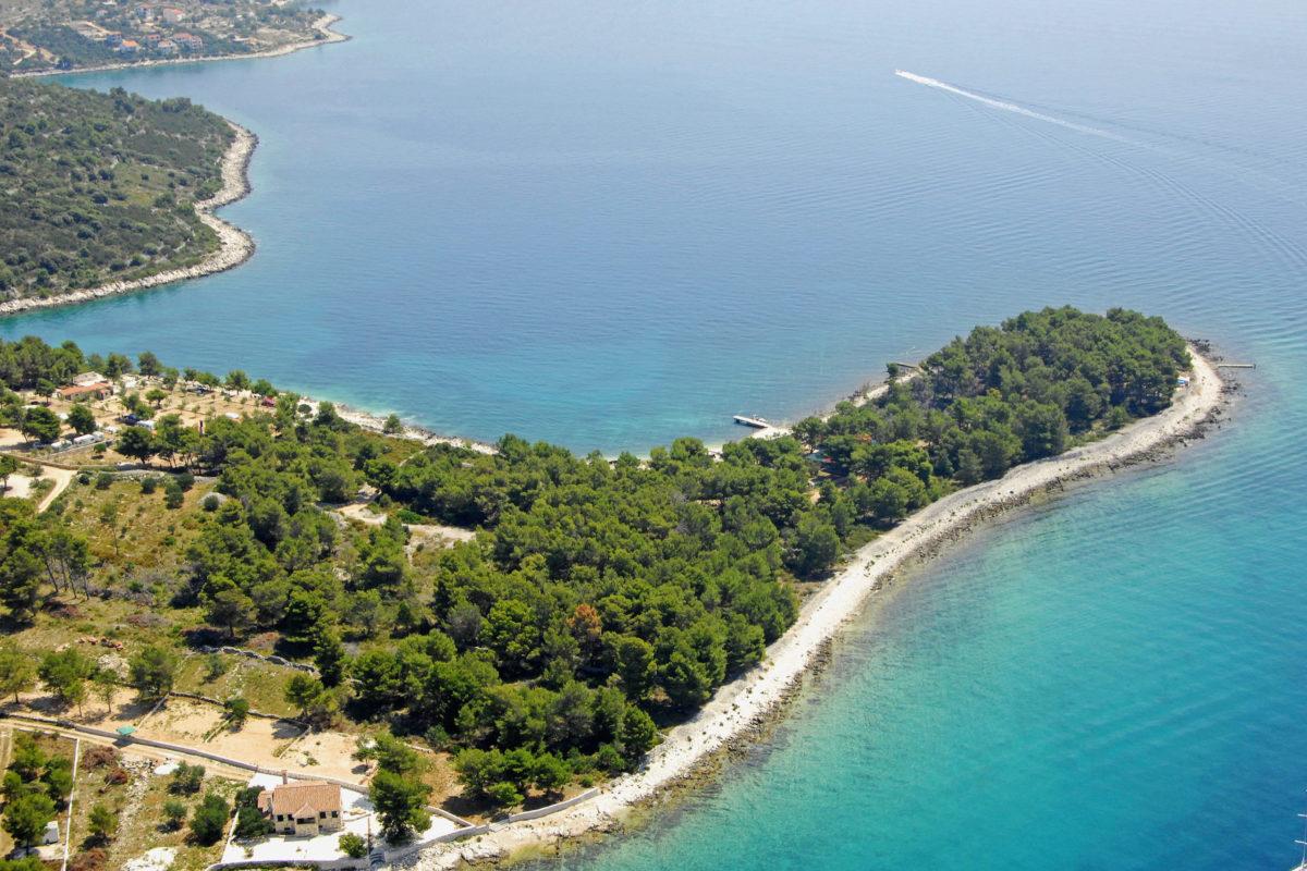 Hrvatska, Ostrvo Čiovo, more