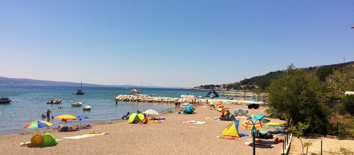 duće, hrvatska, more, plaža