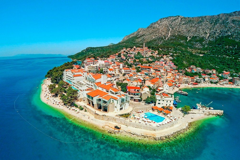 Igrane Hrvatska pogled na more