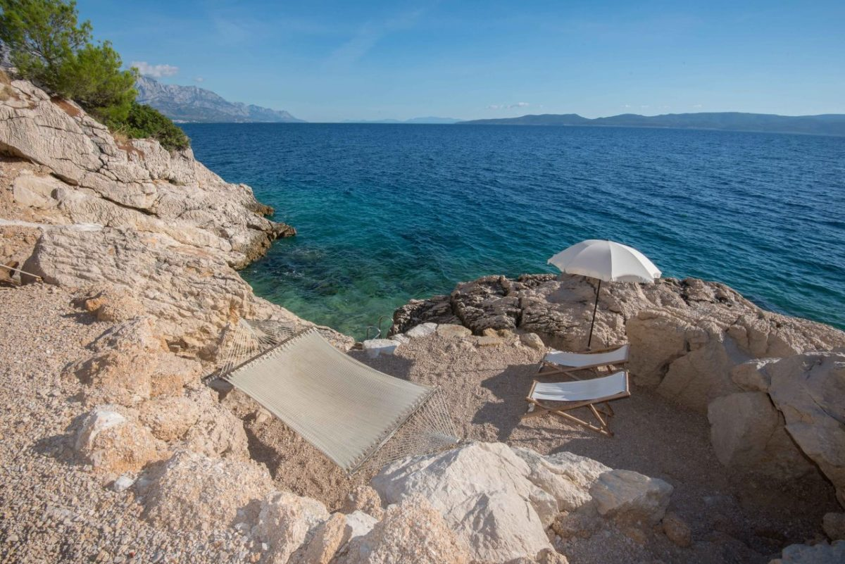 Marušići plaza, more, hrvatska