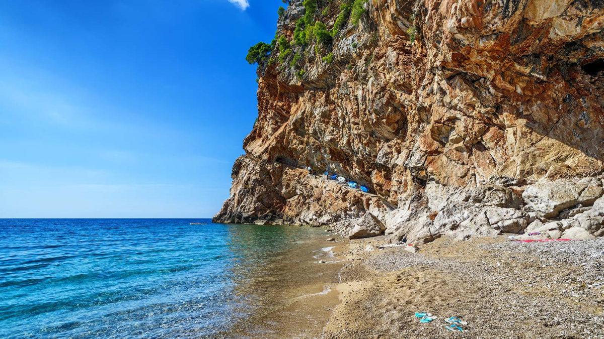 Cavtat plaža, more