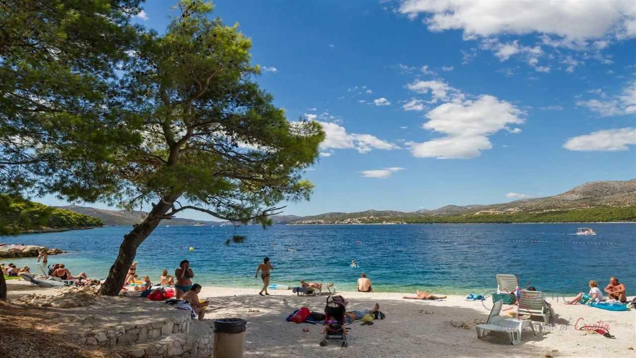 Trogir Plaža Hrvatska
