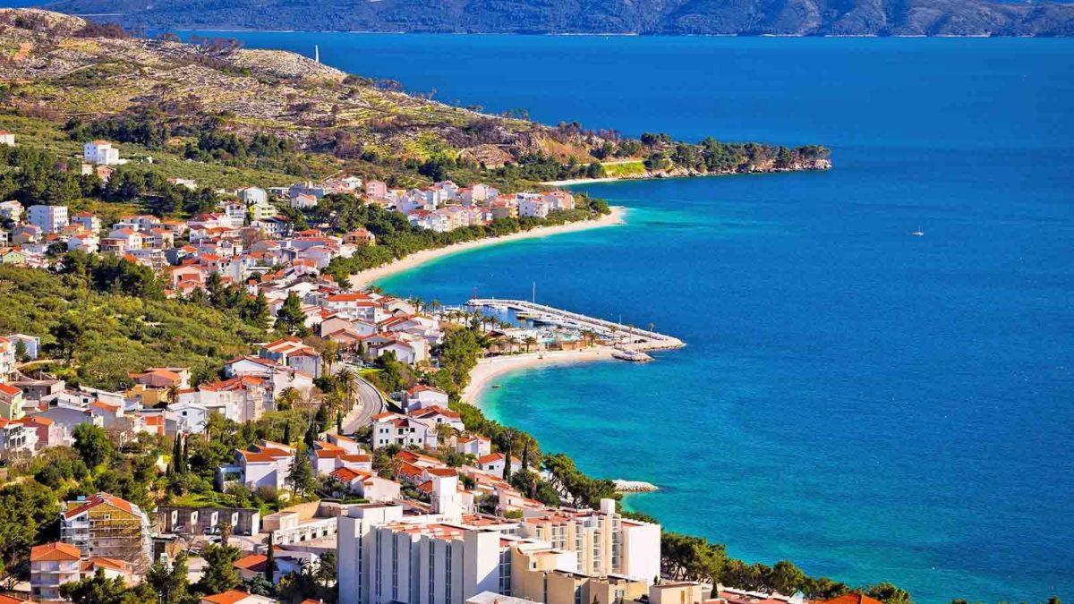 Makarska plaže, more