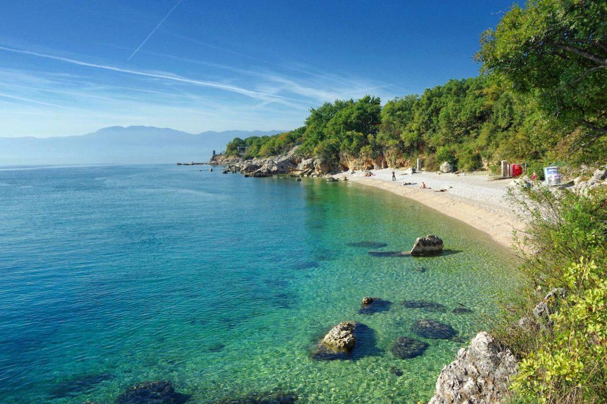 Rijeka more, plaža